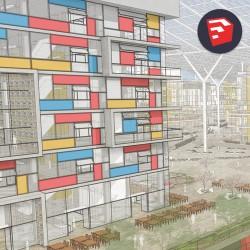 Dựng hình kiến trúc với Sketchup Pro