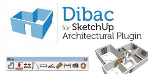 Plugin Dibac for sketchup 2014
