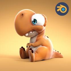 Dựng nhân vật cơ bản với Blender 3D