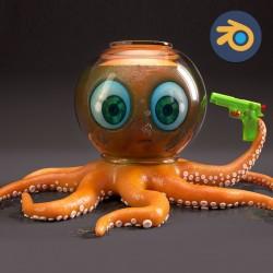 Blender 3D cơ bản – Dựng nhân vật